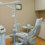 Dental room, dental chair, dental equipment. Dunwoody, GA.