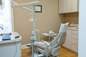 Dental room, dental chair, dental equipment. Dunwoody, GA.