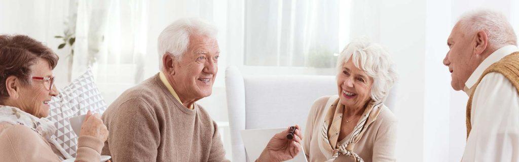 smiling elderly people dunwoody, ga
