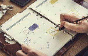 Scheduling Calendar Dunwoody GA